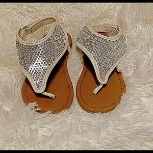 Healthtex Girl rhinestone toddlers sandals